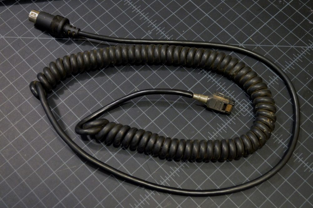 IBM black SDL to AT cable